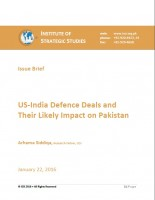 US-India Defence Deals and Their Likely Impact on Pakistan