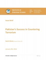 Pakistan's Success in Countering Terrorism