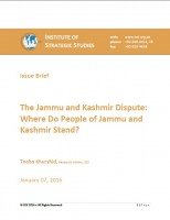 The Jammu and Kashmir Dispute: Where Do People of Jammu and Kashmir Stand?