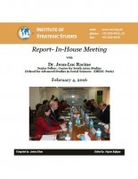 In-House Meeting with Dr. Jean-Luc Racine