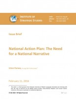 National Action Plan: The Need for a National Narrative