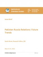 Pakistan Russia Relations: Future Trends