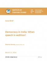 Democracy in India: When speech is sedition!