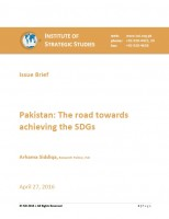 Pakistan: The road towards achieving the SDGs