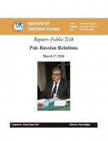 Report- Public Talk Pak-Russian Relations