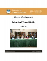 Report- Book Launch on Islamabad Travel Guide