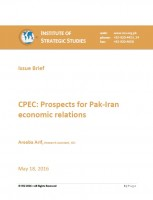 CPEC: Prospects for Pak-Iran economic relations