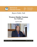 Report-Public Talk on Western-Muslim Tensions: Key Challenges