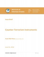 Issue Brief on Counter-Terrorism Instruments