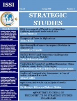 Strategic Studies (Vol. 36, Spring 2016, No. 1)