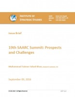Issue Brief on 19th SAARC Summit: Prospects and Challenges