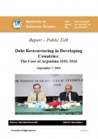 Report on Debt Restructuring in Developing Countries:  The Case of Argentina 2001-2016