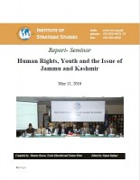 Seminar on Human Rights, Youth and the Issue of Jammu and Kashmir