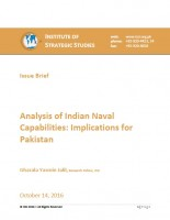 Issue Brief on Analysis of Indian Naval Capabilities: Implications for Pakistan