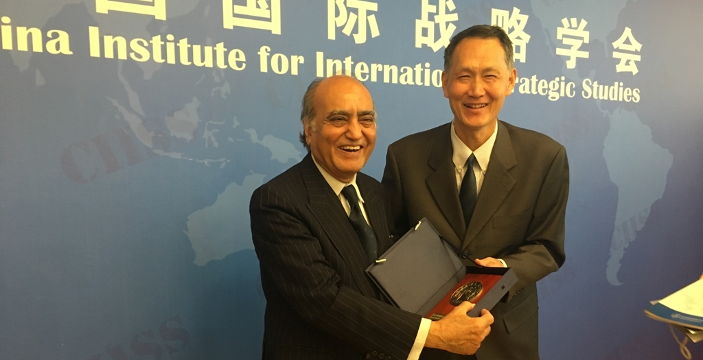 A five-member delegation from the ISSI to China 2