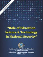"Seminar Report - ""Role of Education, Science & Technology in National Security"""