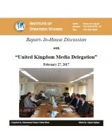 Report- In-House discussion with United Kingdom Media Delegation