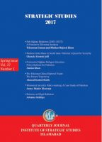 Strategic Studies (Vol. 37, Spring 2017, No. 1)