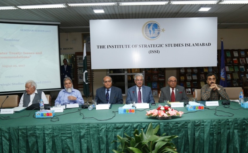 """Seminar on """"Indus Water Treaty : Issues & Recommendations"""""""