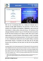 Issue Brief on The Chinese Dream of Digital Silk Road