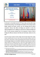 Issue Brief on Russia-India-China Trilateral Meeting: Generating a New Power Equation?
