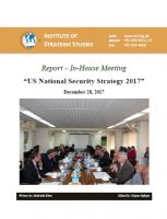 "Report – In-House Meeting on ""US National Security Strategy 2017"""