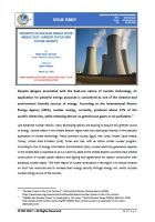 Issue Brief on Prospects of Nuclear Energy in the Middle East: Current Status and Future Growth