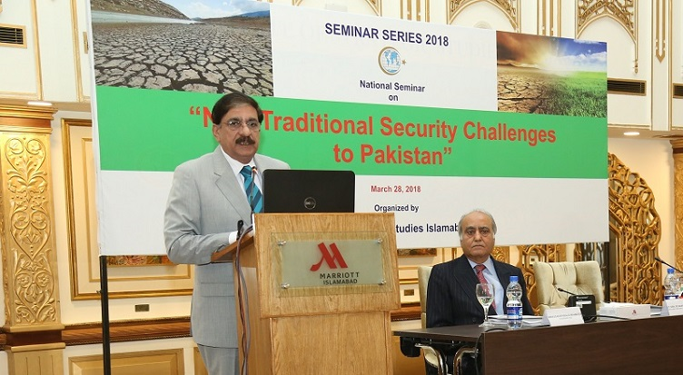 """National Seminar on """"Non-Traditional Security Challenges to Pakistan"""""""