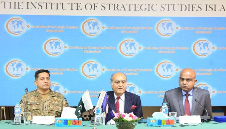 Visit by 59 Officers of the Command and Staff College, Quetta at ISSI