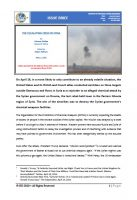 Issue Brief on The Escalating Crisis in Syria