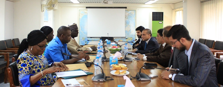 July 18, 2018: In-house meeting with a 6-member Media Delegation from Nigeria