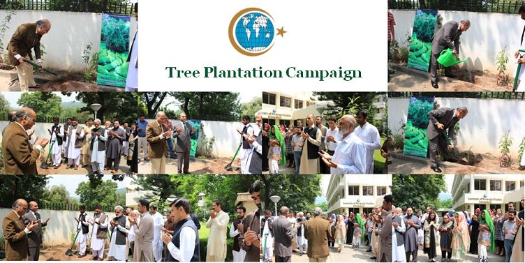 Tree Plantation Campaign held at ISSI