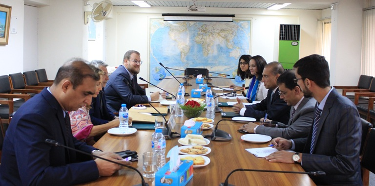 September 24, 2018: In-house meeting with a 4-member Media Delegation from Italy