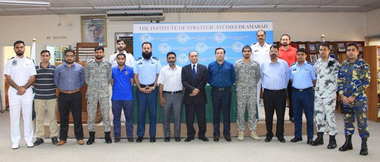 September 25, 2018:  16 Armed Forces participants of the 34th Human Resource Development Program at the International Islamic University.