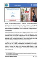 "Issue Brief on Poverty Alleviation in Pakistan: A Review of ""Ehsaas"" Program"