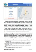 Issue Brief on Syrian Golan Heights: A Politcal Chimera