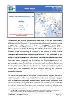 Issue Brief on Gwadar and Hambantota under BRI