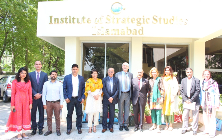 In-house meeting  with  a 10-member delegation of European Parliamentarians
