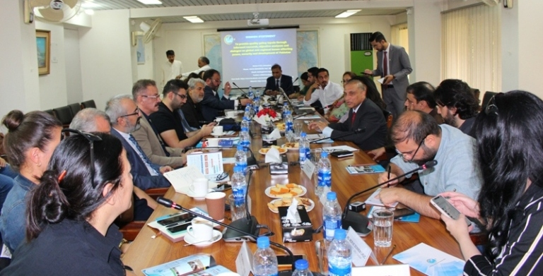 Round-table discussion for a 22-Member Media Delegation from Turkey